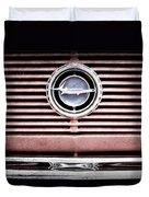 1966 Plymouth Barracuda - Cuda - Emblem Duvet Cover