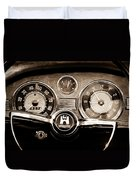 1966 Volkswagen Vw Karmann Ghia Steering Wheel Duvet Cover