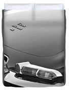 1967 Jaguar E-type 4.2 Liter Series 1 Roadster Taillight Duvet Cover