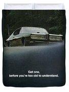 1968 Pontiac Gto Duvet Cover