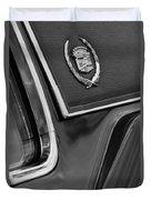 1969 Cadillac Eldorado Emblem Duvet Cover