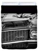 1969 Cadillac Eldorado Grille Duvet Cover