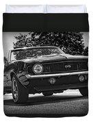1969 Chevy Camaro Ss Duvet Cover