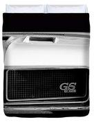 1970 Buick Gs Grille Emblem Duvet Cover