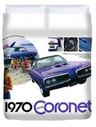 1970 Dodge Coronet Super Bee Duvet Cover