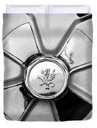 1971 Iso Fidia Wheel Emblem Duvet Cover