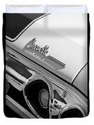 1972 Chevrolet Chevelle Taillight Emblem Duvet Cover