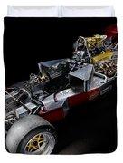 1974 Lola T332  F5000 Race Car V8 5 Litre Chassis Duvet Cover