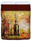 1-2-3 Bottles - S12a203 Duvet Cover