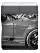 2006 Ford Saleen Mustang Bw Duvet Cover