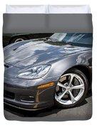 2010 Chevy Corvette Grand Sport Duvet Cover