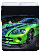 2010 Dodge Viper Acr Duvet Cover