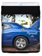2010 Plymouth Superbird  Duvet Cover