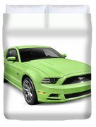 2013 Ford Mustang Gt 5.0 Sports Car Duvet Cover