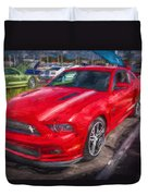 2013 Ford Mustang Gt Cs Painted  Duvet Cover