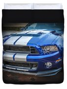 2013 Ford Mustang Shelby Gt 500  Duvet Cover