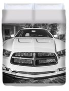 2014 Dodge Charger Rt Painted Bw Duvet Cover