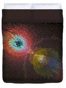 3d Dimensional Art Abstract Duvet Cover