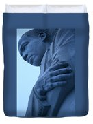 A Blue Martin Luther King - 2 Duvet Cover