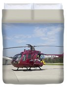 A Bo 105pah Helicopter Of The German Duvet Cover