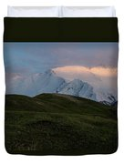 A Couple Of Mountaineers Duvet Cover