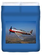 A Hawker Sea Fury T.mk.20 Dreadnought Duvet Cover