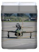 A Hellenic Air Force T-2 Buckeye Duvet Cover