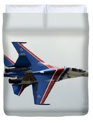 A Sukhoi Su-27 Flanker Of The Russian Duvet Cover