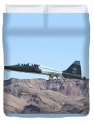 A U.s. Air Force T-38c Taking Duvet Cover