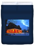 A Winters Eve Duvet Cover