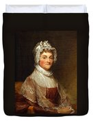 Abigail Smith Adams By Gilbert Stuart Duvet Cover