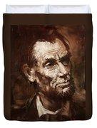 Abraham Lincoln Duvet Cover
