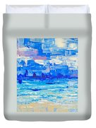Abstract Beach Duvet Cover