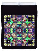 Abstract Symmetry Of Colors Duvet Cover