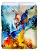 Abstraction 599-11-13 Marucii Duvet Cover