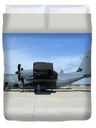 Ac-130j Ghostrider At Hurlburt Field Duvet Cover