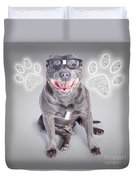 Access To Smart Dog Training Duvet Cover