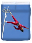 Acrobatic Performance Duvet Cover