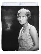 Actress Helen Hayes Duvet Cover
