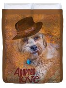 Adopted With Love Duvet Cover