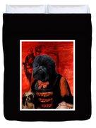 Affenpinscher Art By Nobility Dogs Duvet Cover
