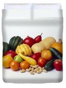 Agriculture - Autumn Fruits Duvet Cover