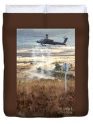 Ah64d Apache Longbow Helicopters  Duvet Cover