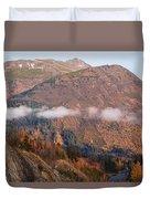 Alaskan Mountains Duvet Cover