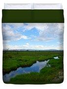 Alaskan Tundra Duvet Cover