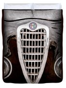 Alfa Romeo Milano Grille Emblem Duvet Cover