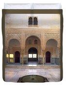 Alhambra Palace Patio Del Cuarto Dorado Duvet Cover