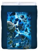 Alien Pirates  Duvet Cover