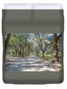 Lowcountry Allee Of Oaks Duvet Cover