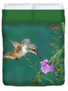 Allens Hummingbird Duvet Cover